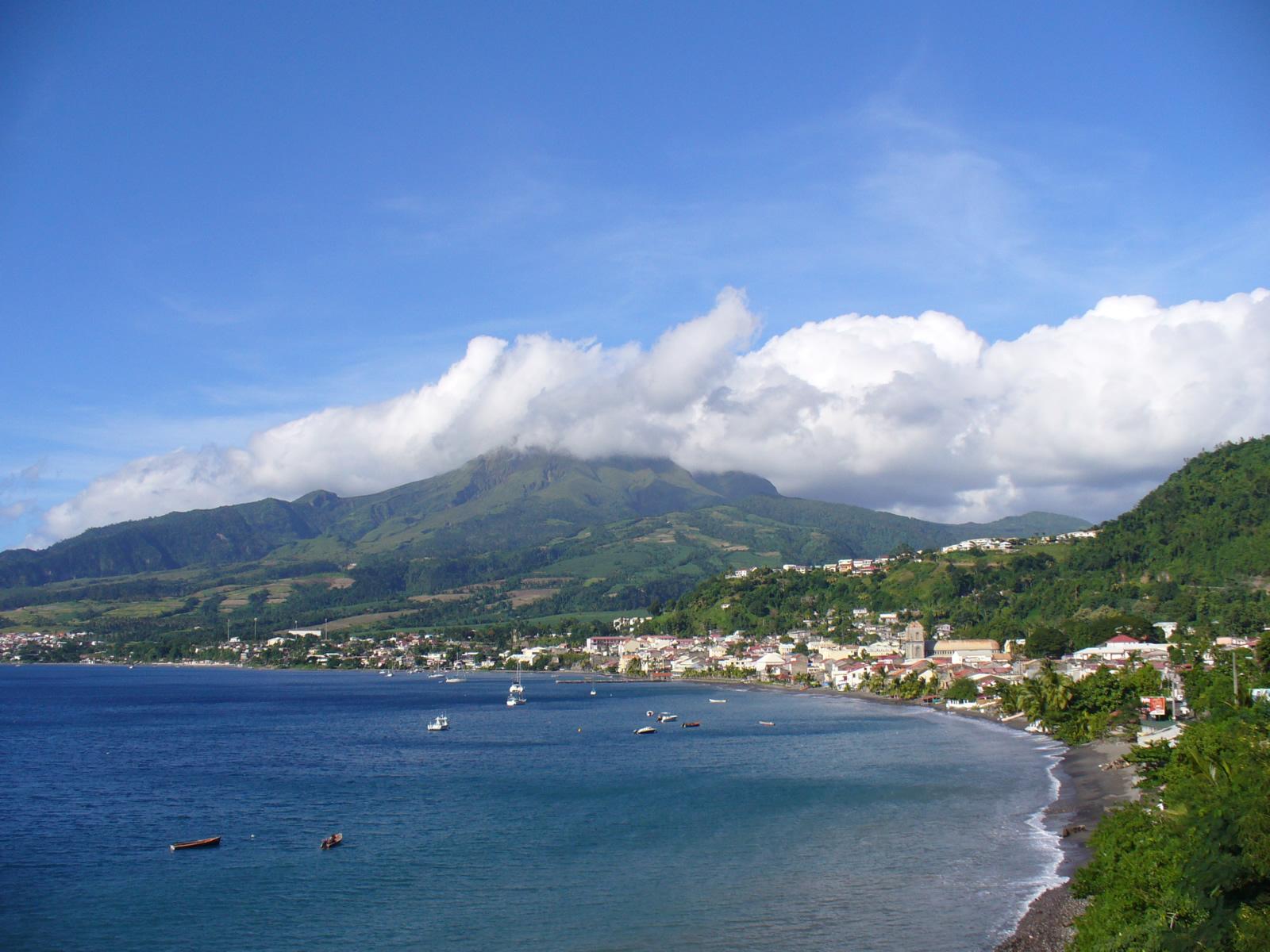 Saint-Pierre (Martinique) : Cartes, Photos et Infos Touristiques