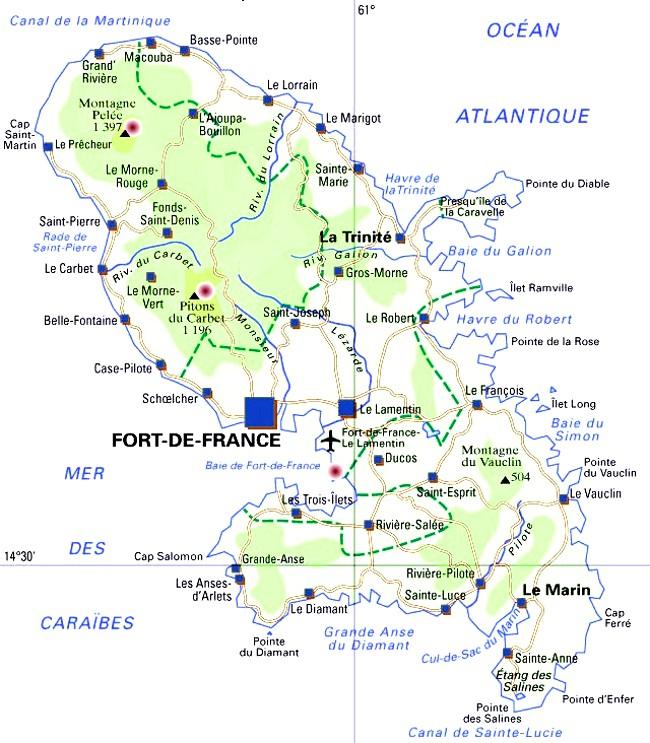 Sainte Marie (Martinique) : Cartes, Photos et Infos Touristiques